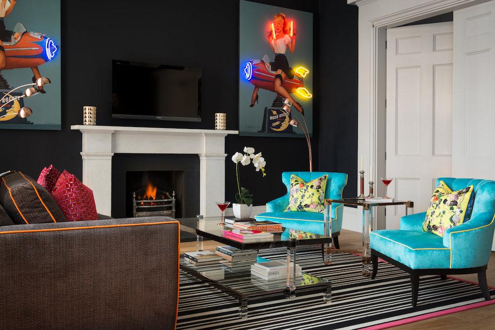 17 Rutland Apartments Edinburgh Interior Design Scotland