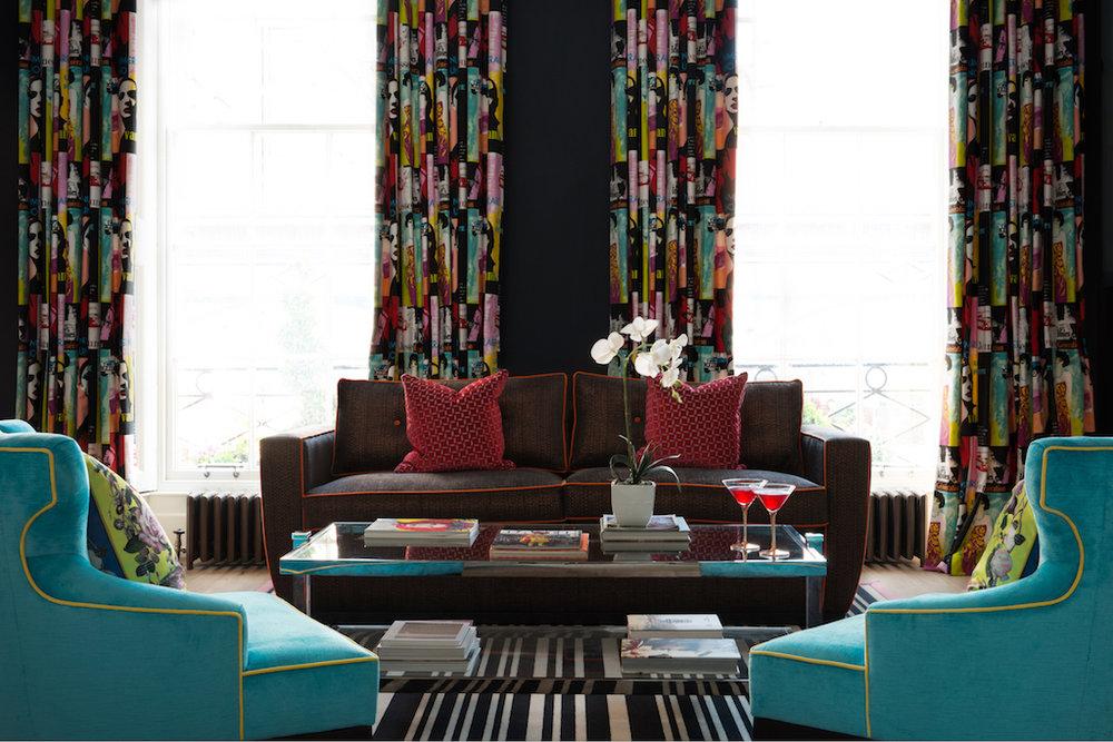 Sofa bright interiors