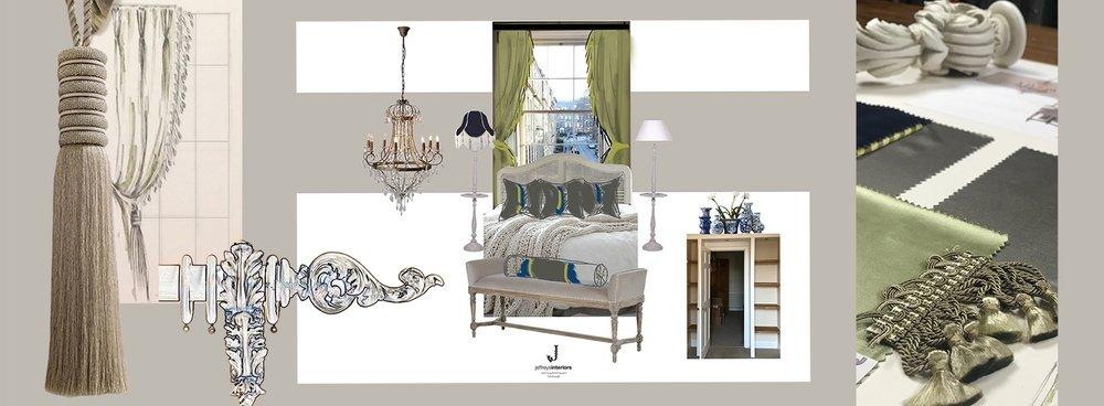 Jeffreys Interiors Bedroom Moodboard