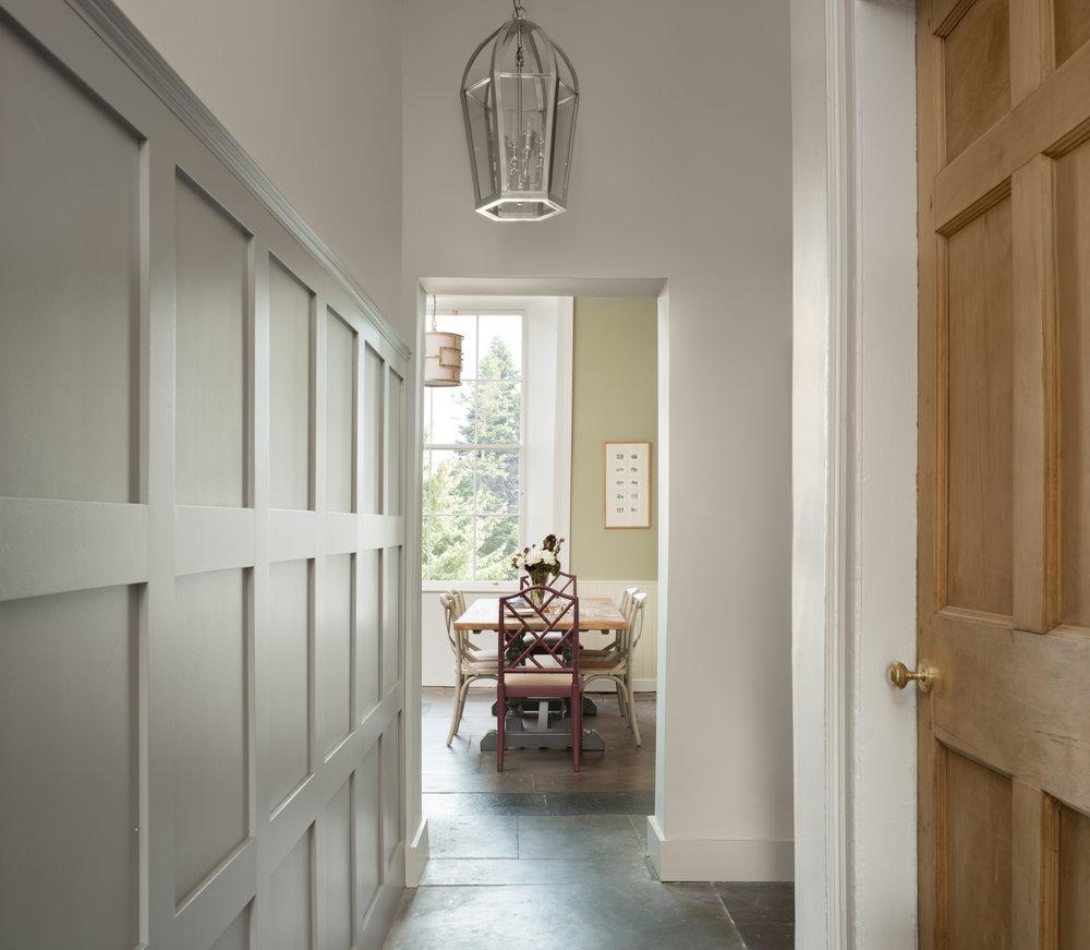 Gayfield SQ hallway interiors.