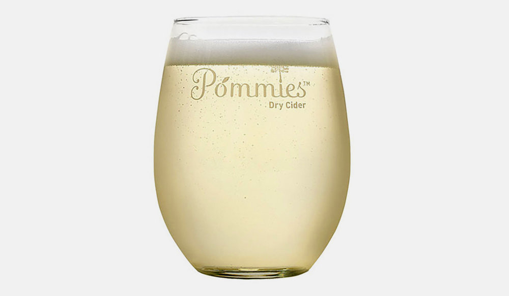 POMMIES GLASS -