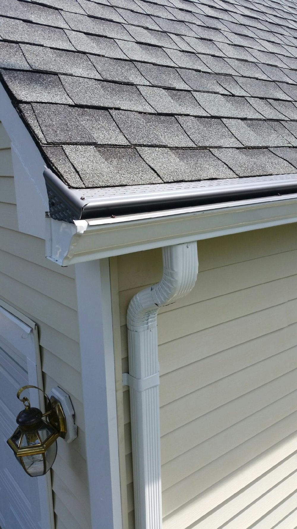 Screen gutter guards in new jersey leaf guards nj for New gutters