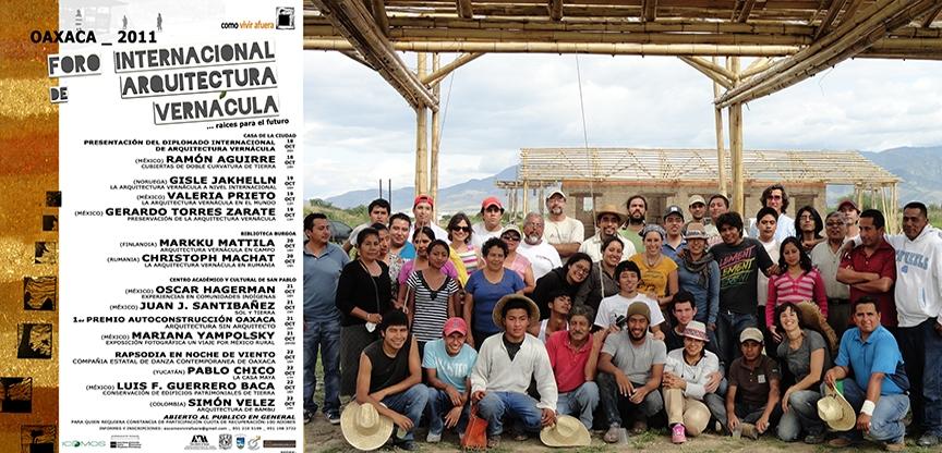 participation in foro internacional de arquitectura vernácula, 2011