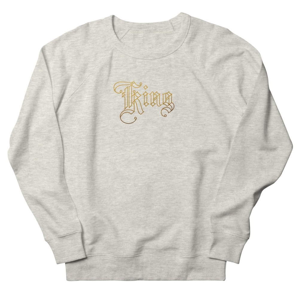 Sweatshirt  - Golden King — Various colors