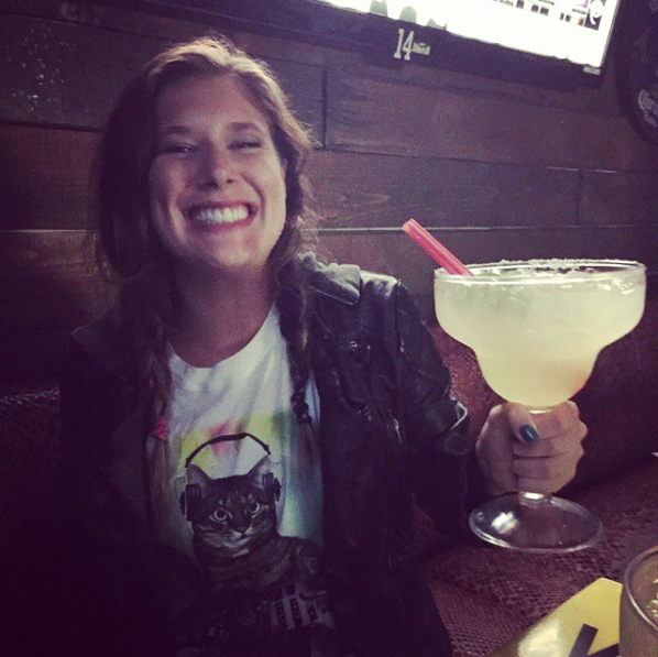 2015 :: Hollywood :: Seriously like 9/10 I was out drinking it was out in Hollywood and it was at Cabo Cantina. 100% of the time it was patron in my cup and Abril by my side.