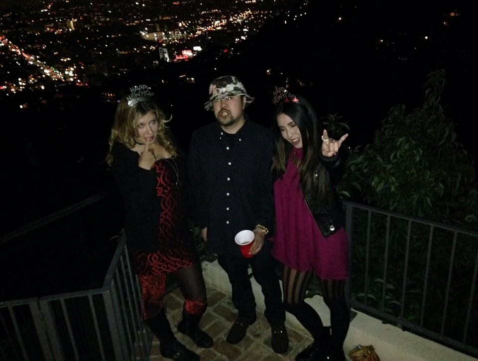 2015 :: New Years :: Hollywood Hills with the Master G Mr. Paolo.
