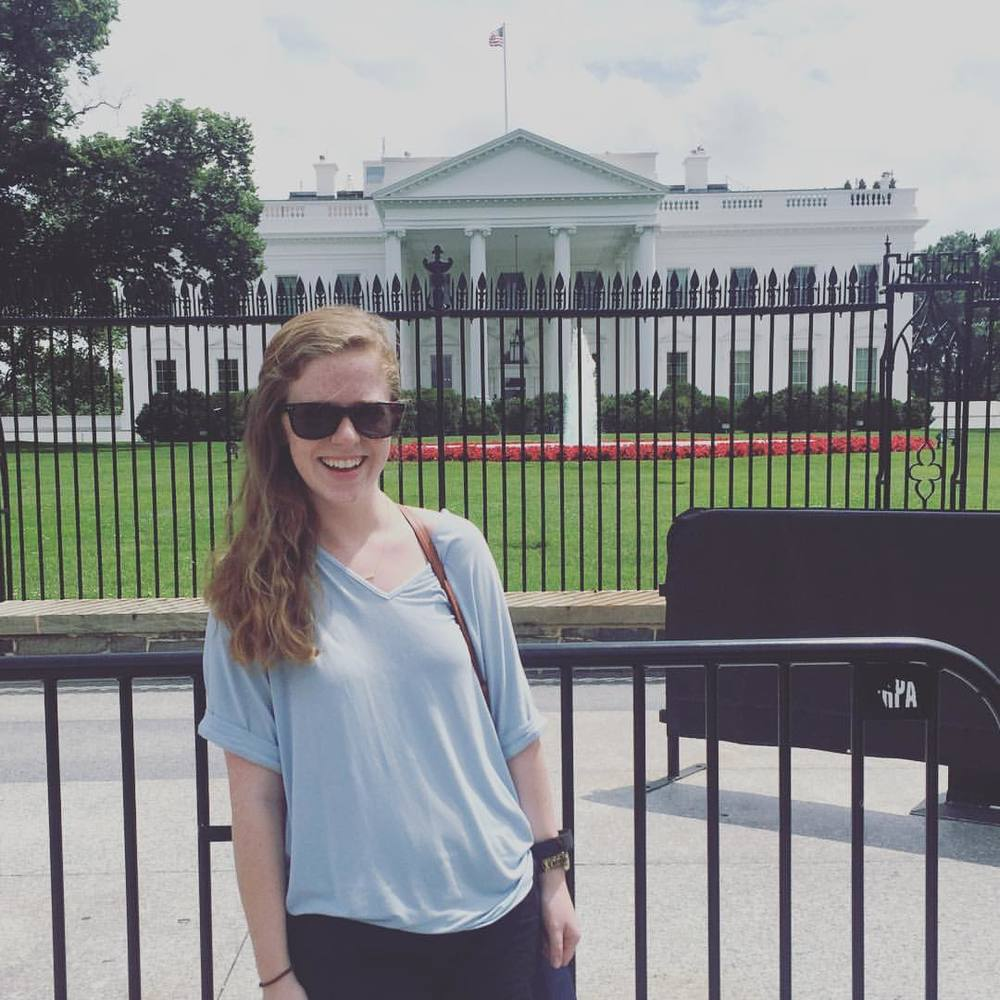 "SARAH<a href=""https://www.linkedin.com/in/sarah-gillespie-853226100""></a><strong>Future president. Professional Fitbitter.</strong>"