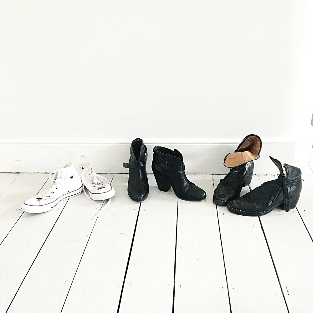 Converse, Rag & Bone, All Saints