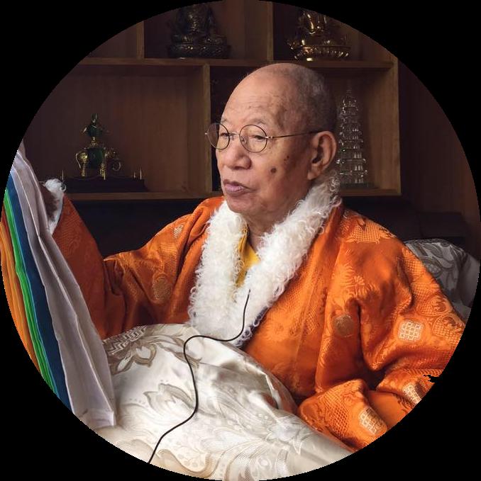 HH Dodrubchen Rinpoche