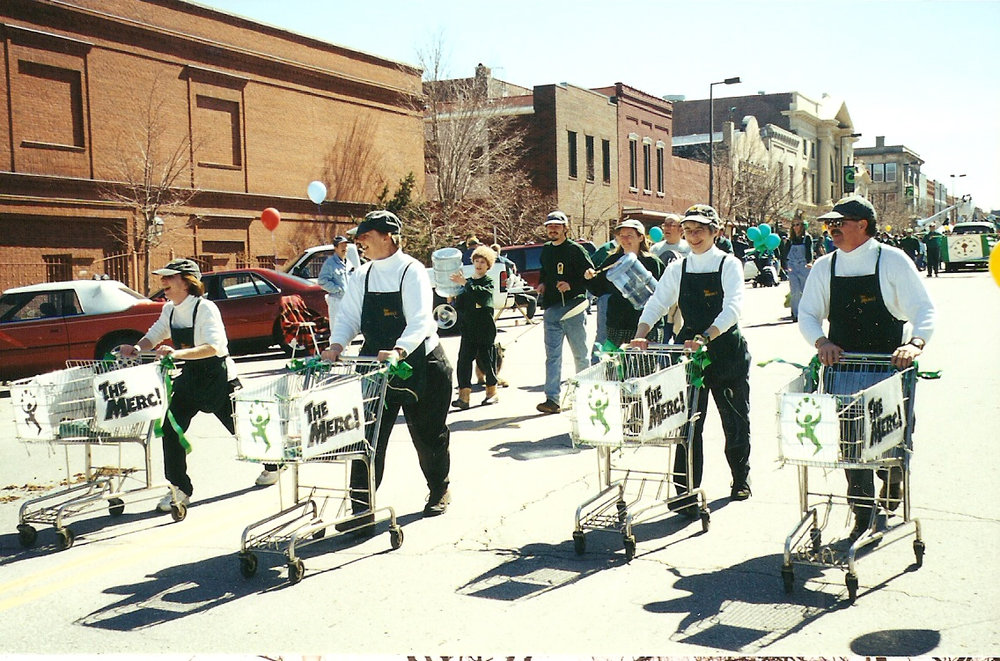 Marching Grocers