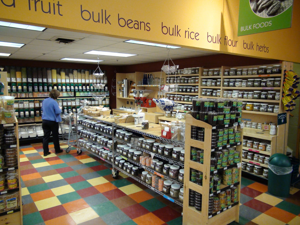 The co-op bulk department in 2007.