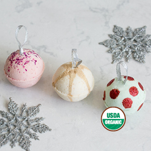 Pacha Soap Co. Froth Bombs   Bring home the magic of the season with Sugar Cookie and Sugar Plum Fairy scented bath bombs. Great for use as stocking stuffers, additions to DIY gift baskets, and even tree ornaments!