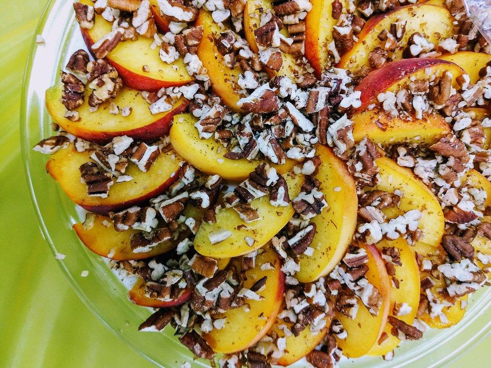 Peaches & Cream by Regina Kraus
