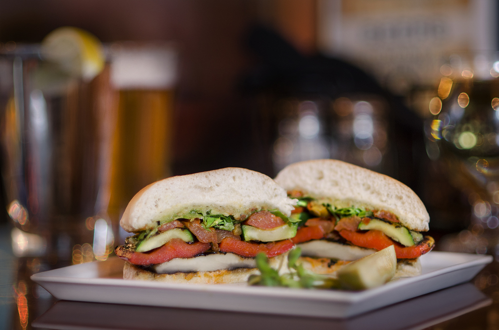 Toboggan Brewing Co. Grilled Vegetable Sandwich
