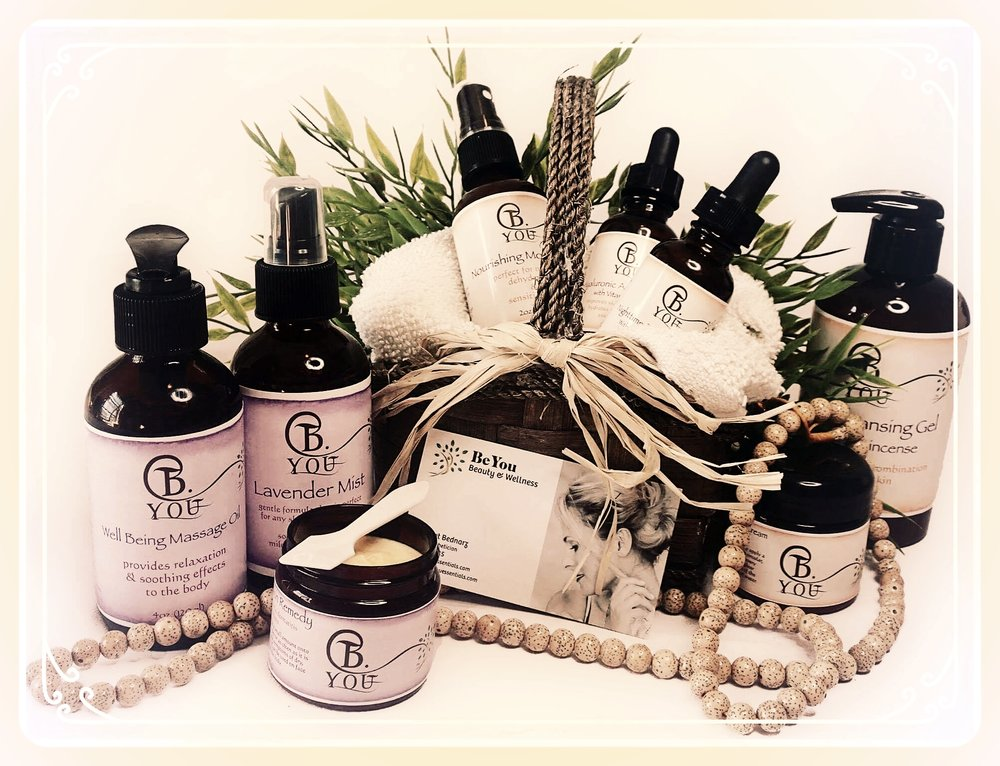 B.YOU ESSENTIALS--the best handmade skin care cosmetics your body could ever have.