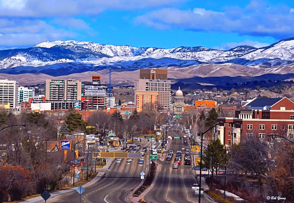 Photo credit: Bob Young  , Downtown Boise, Idaho