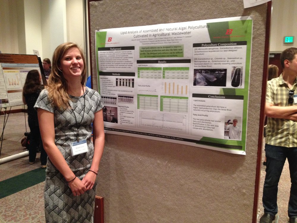 Alison Good presenting at the 2016 ICUR.