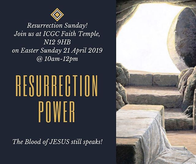 In the spirit of Easter we find unspeakable joy, overflowing peace and renewed strength.  Join us to celebrate the Risen King Jesus on Sunday 21 April@10am.  Venue: Wren Academy, Hilton Avenue, N12 9HB. Access to car park via Woodhouse Road and for pedestrians via gate at the junction of Woodhouse Road and Hilton Avenue.  #joy #peace #resurrection #strength #risenking #easter #everlastinglove #hope #saviour #redeemer #cross #icgcfaith🇬🇧