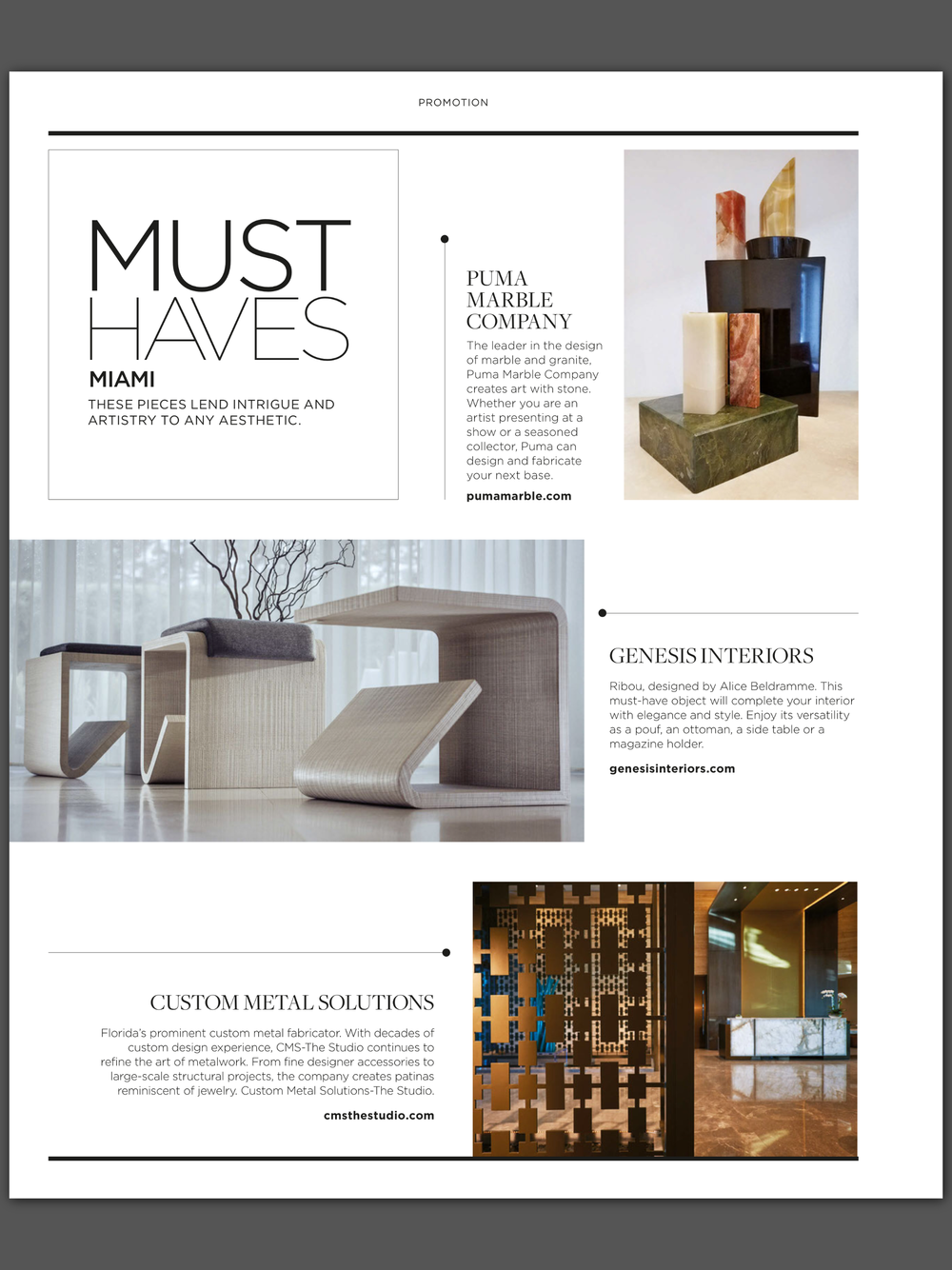 Luxe Interiors + Design Miami - Issue 16 - September/October 2017