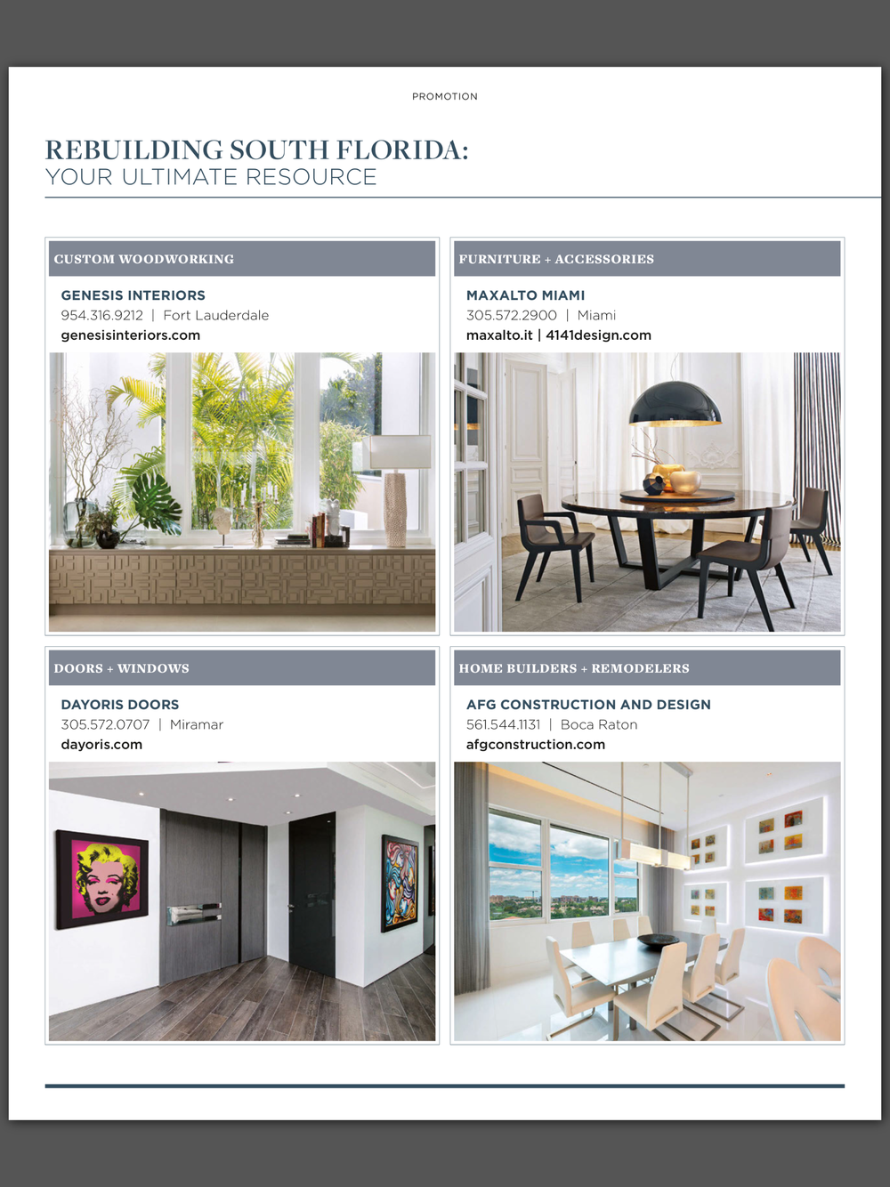 Luxe Interiors + Design Miami - Issue 18 - January/February 2018