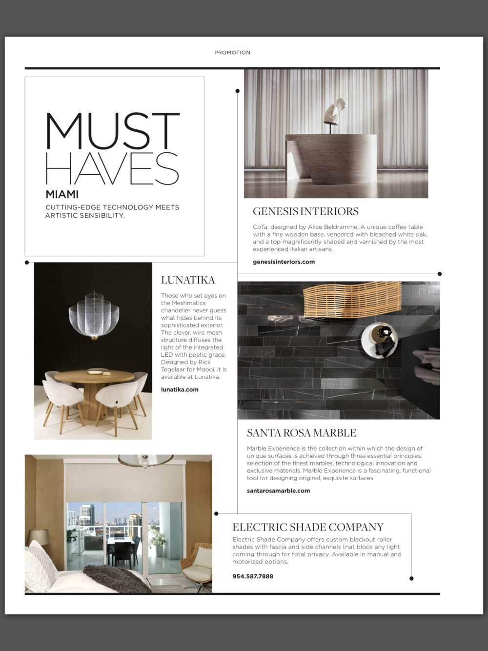Luxe Interiors + Design Miami - Issue 20 - May/Jun 2018