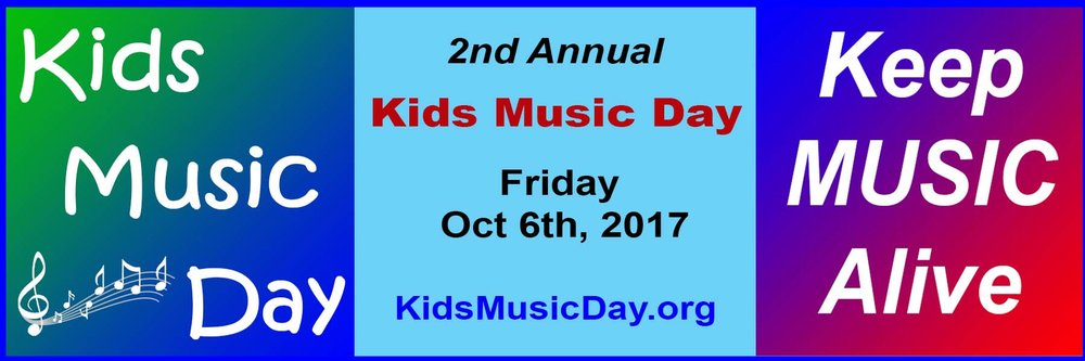 2nd Annual Kids Music Day by Keep Music Alive Organization