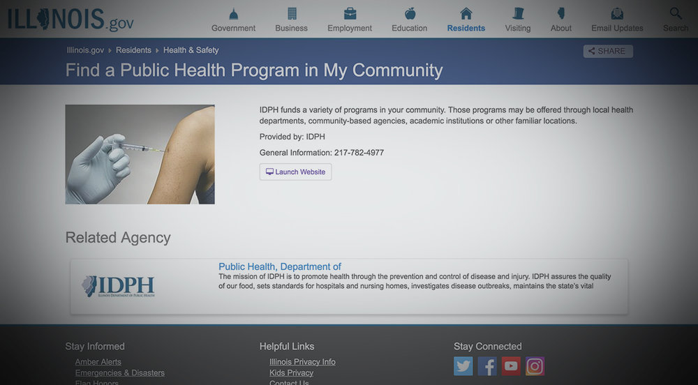 ILLINOIS DEPT. OF HEALTHCARE & FAMILY SERVICES -