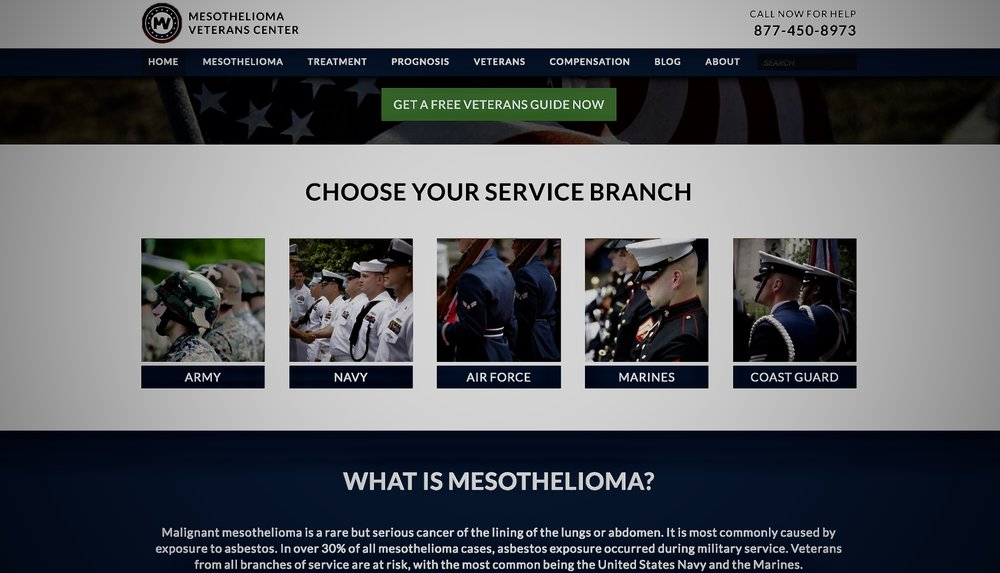 Mesothelioma Veterans Center -