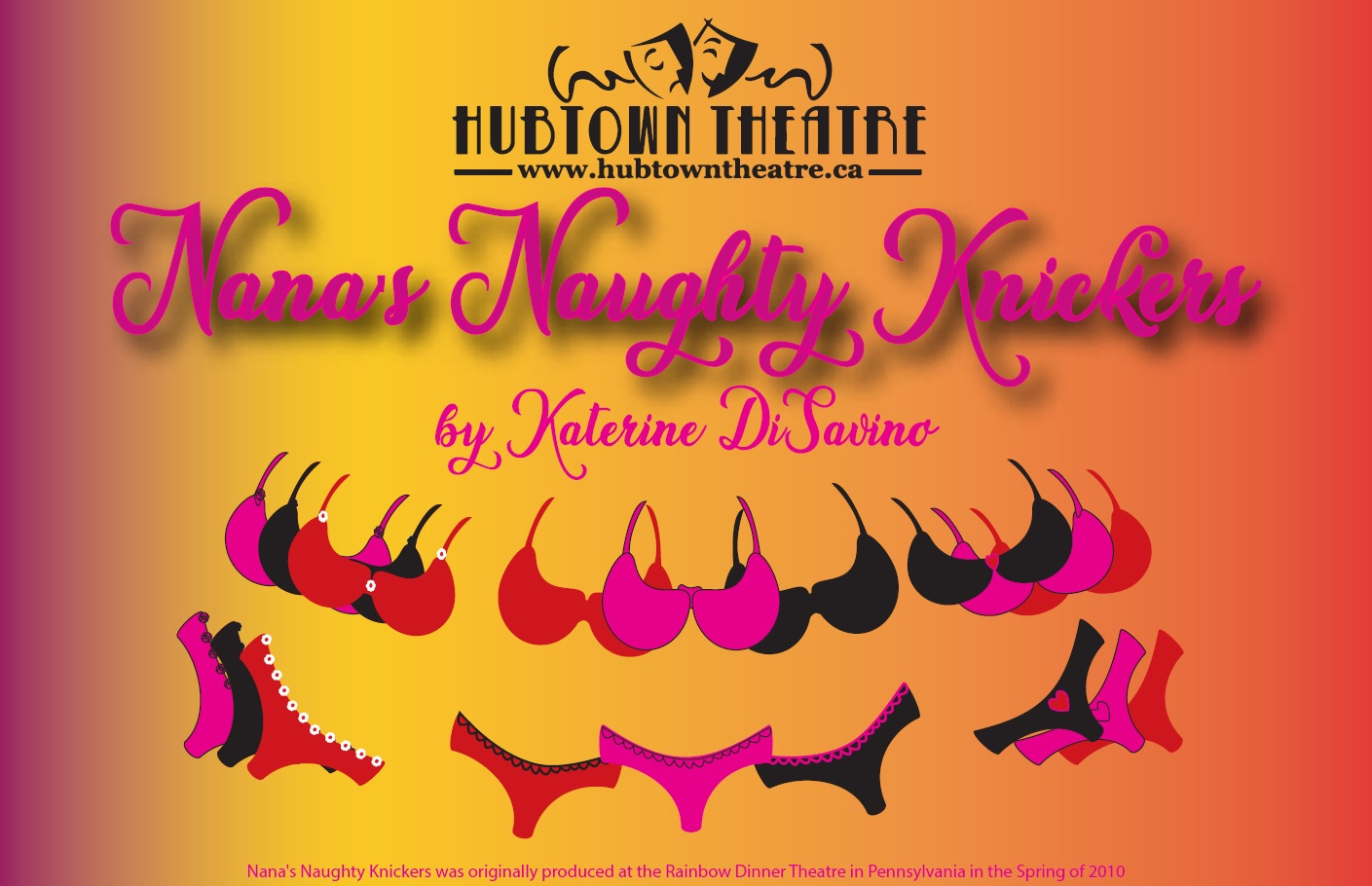 hubtown theatre presents nana s naughty knickers marigold cultural