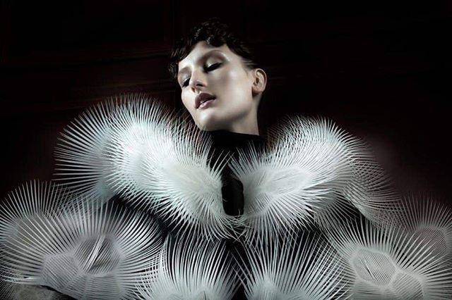 envisioning the future • • • 📸: Iris Van Herpen
