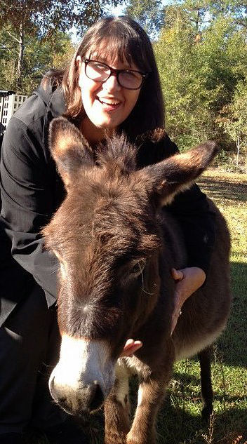 kathy and donkey.jpg