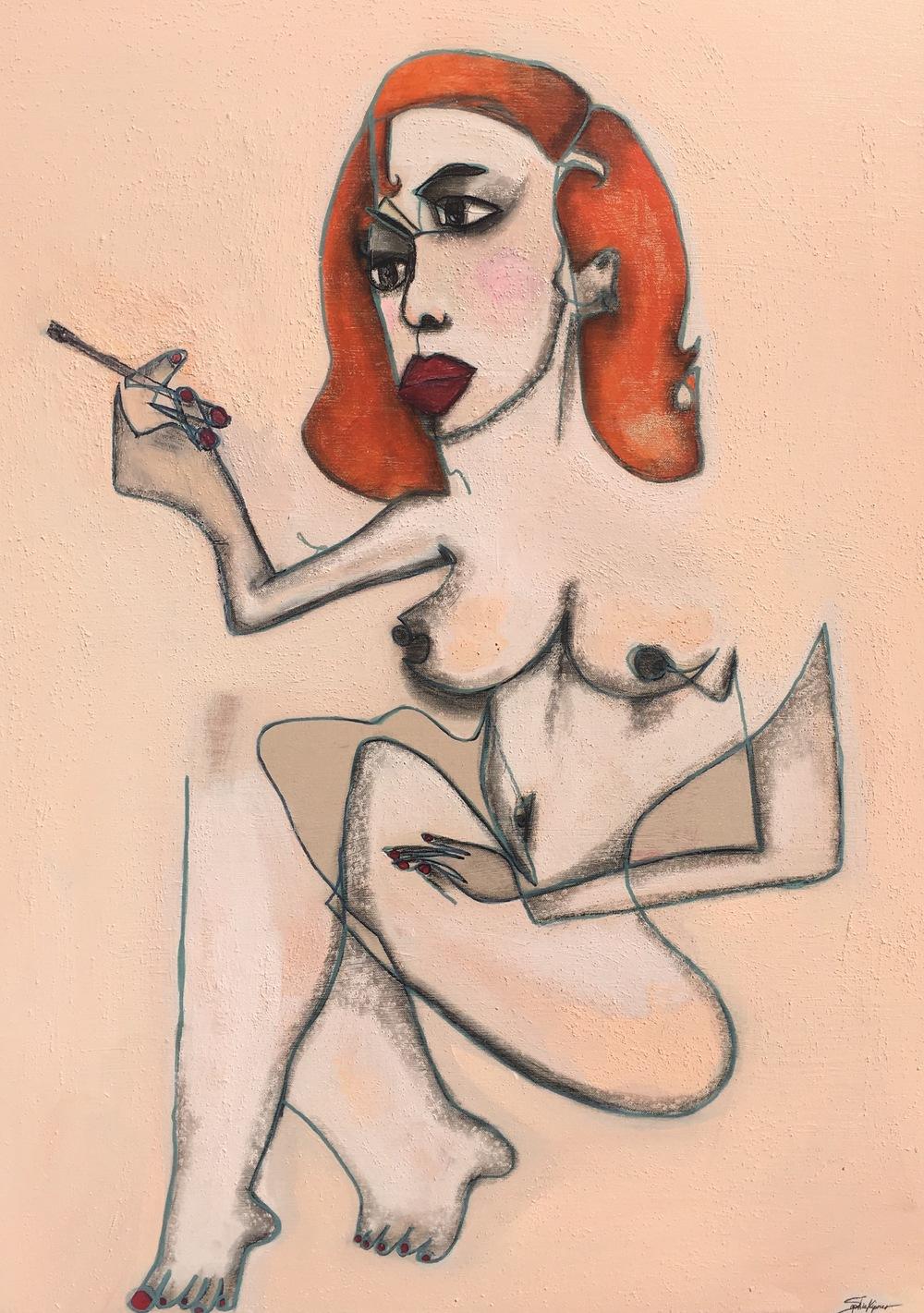 Smoking Hot Redhead