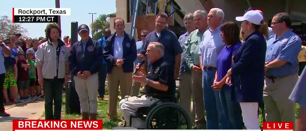 Governor Abbott Issues A Proclamation For Day Of Prayer In Texas After Hurricane Harvey -