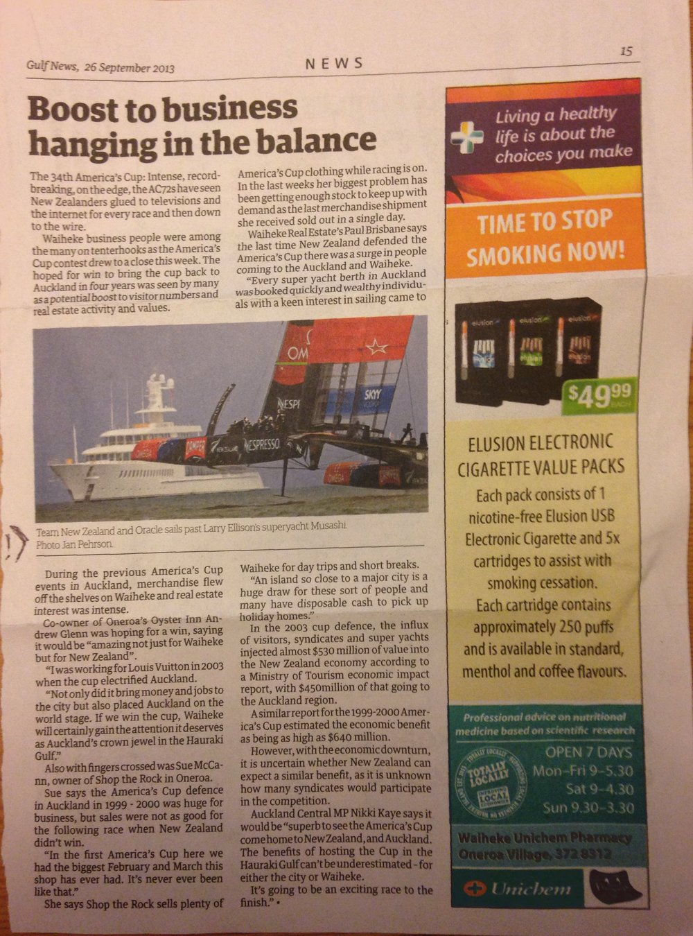 2013_09_20 Waiheke Gulf News.jpg