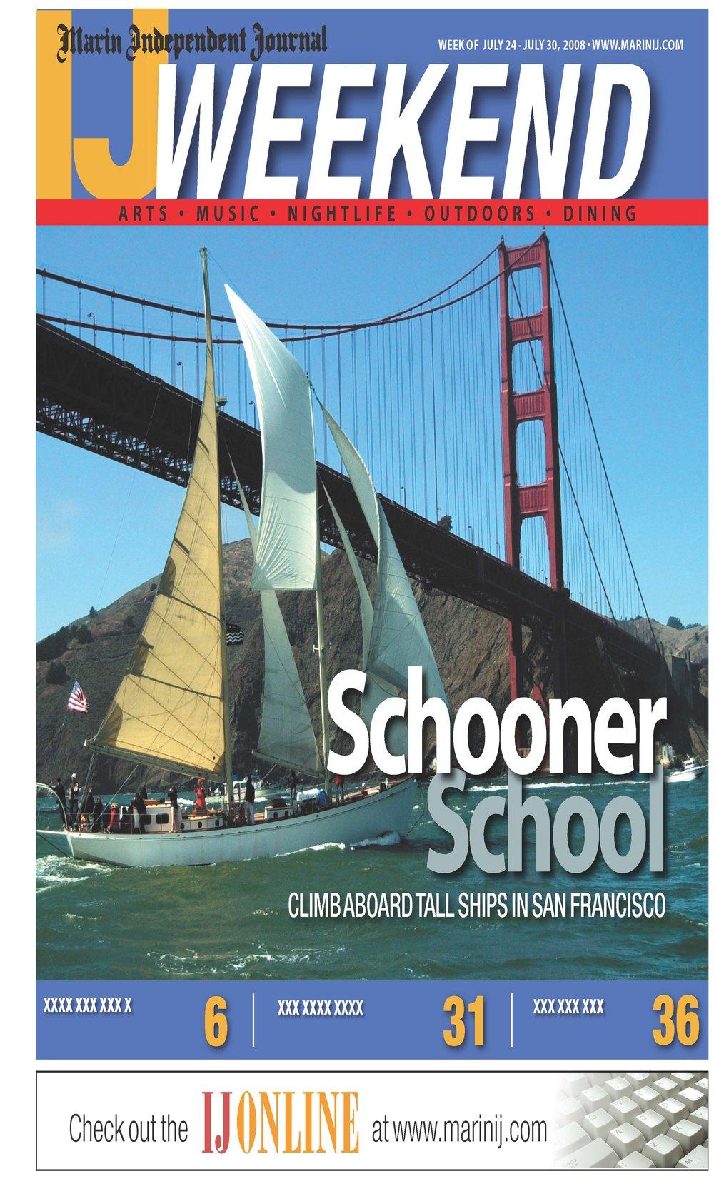 Marin Ij Schooner School Climb Aboard Tall Ships In San Francisco