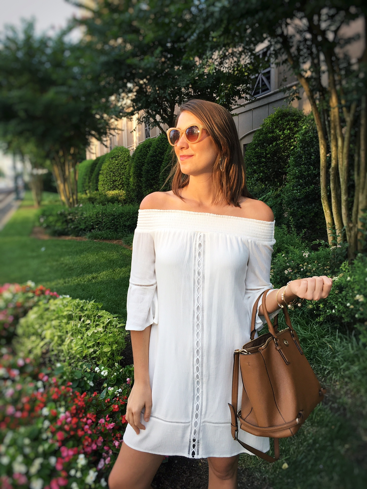 340653ce6 Off the Shoulder White Dress — The Casual Catwalk