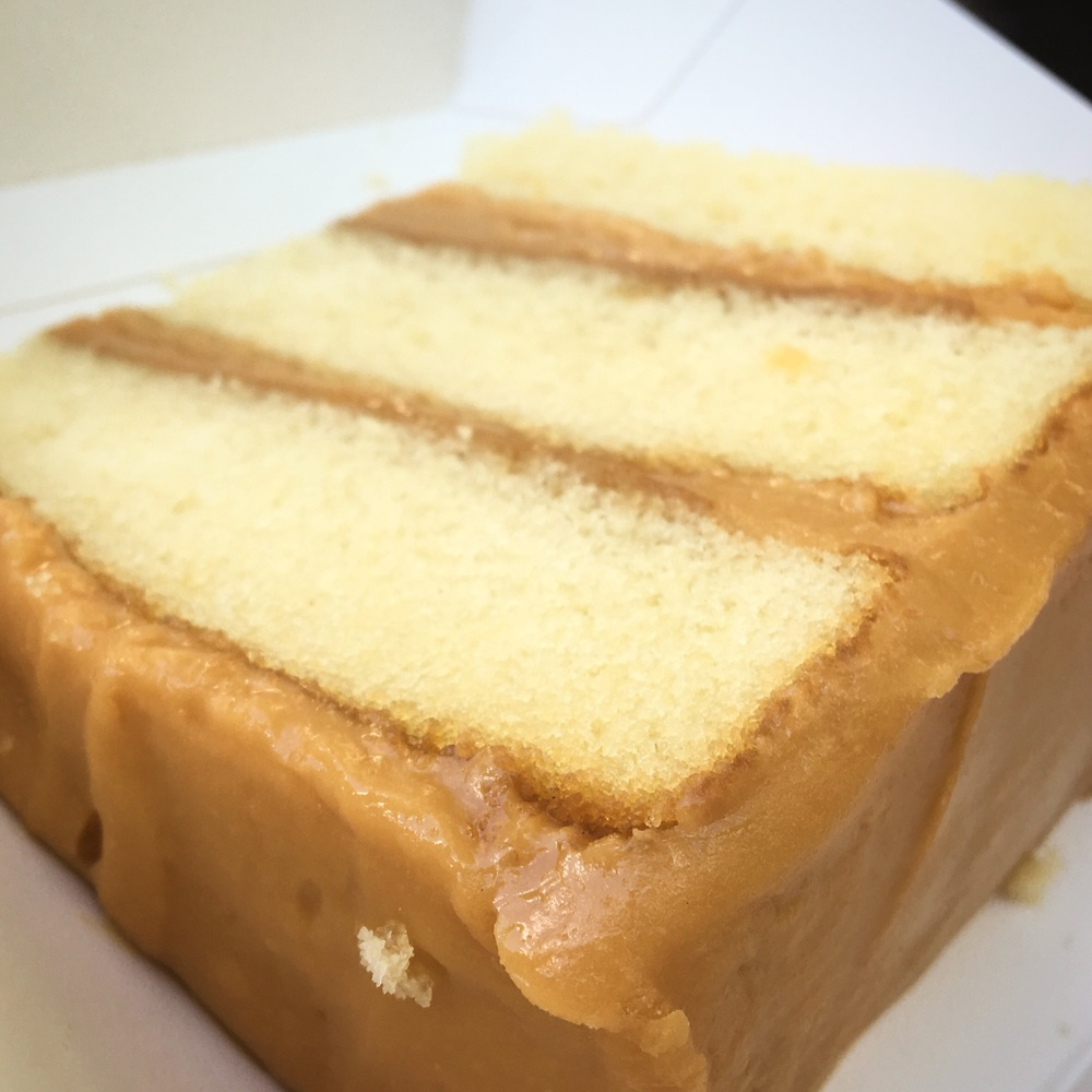 Caramel cake from Sugaree's Bakery