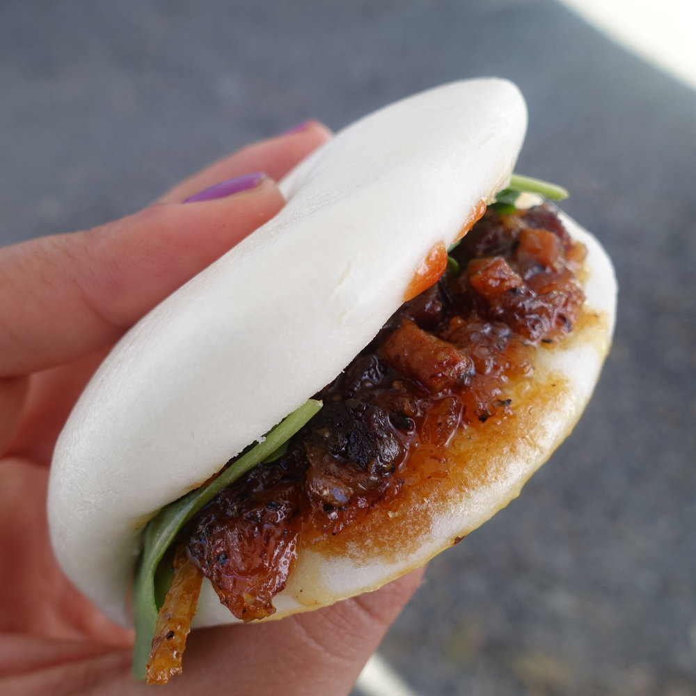 Taiwanese pork bun by  Kingsley