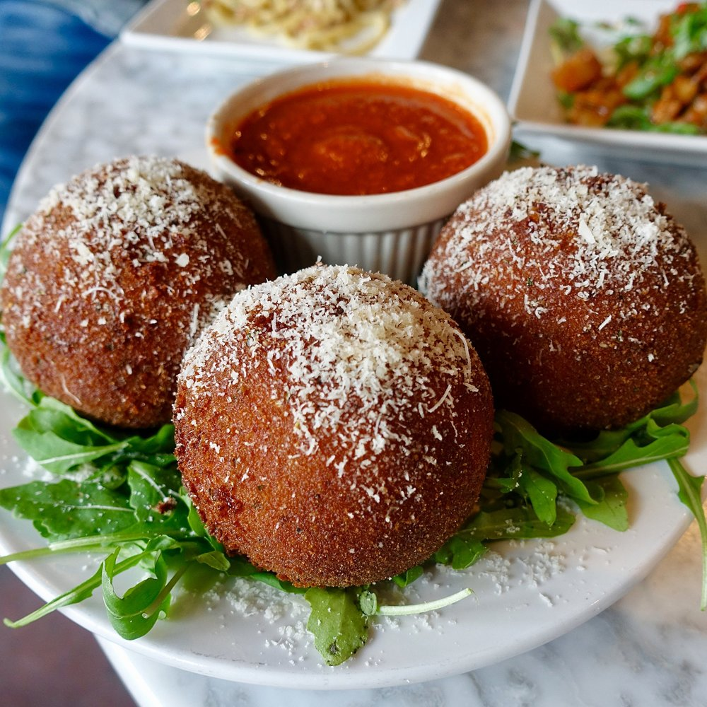 sergimmo salumeria - best italian food new york - where to eat in new york - best restaurants in new york - arancini.jpg