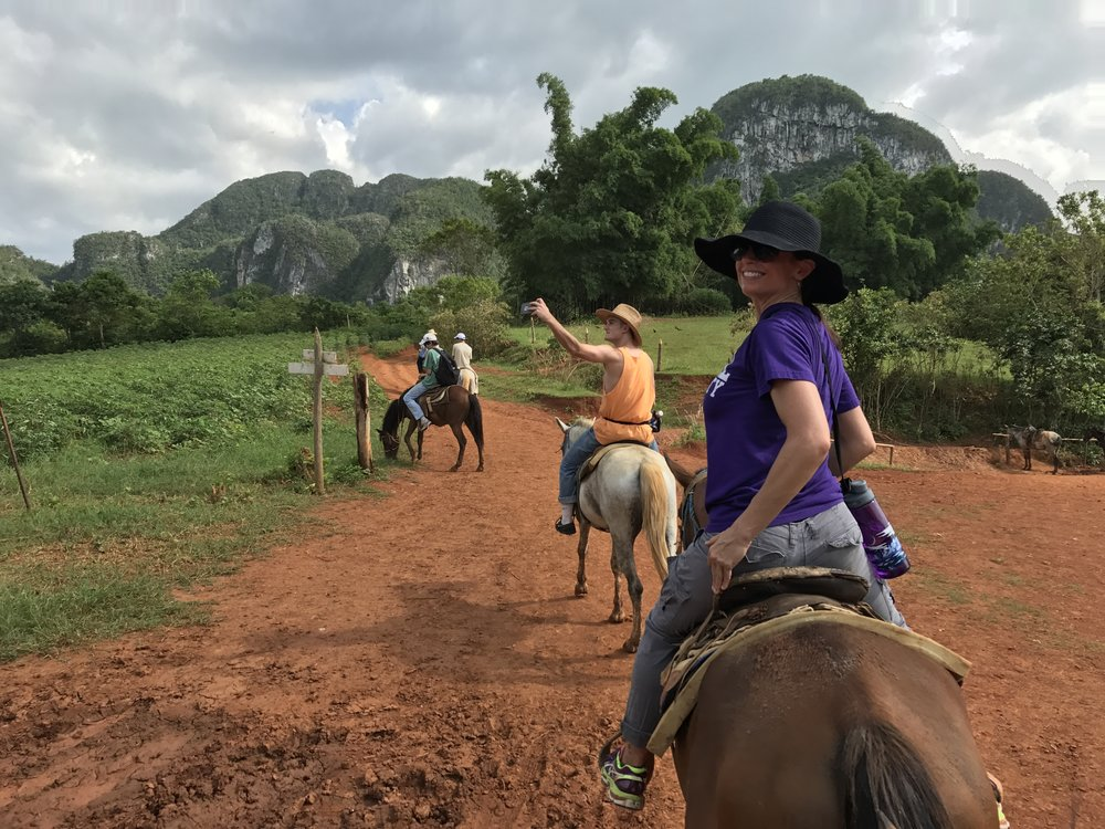horse back riding - Vinales, Cuba