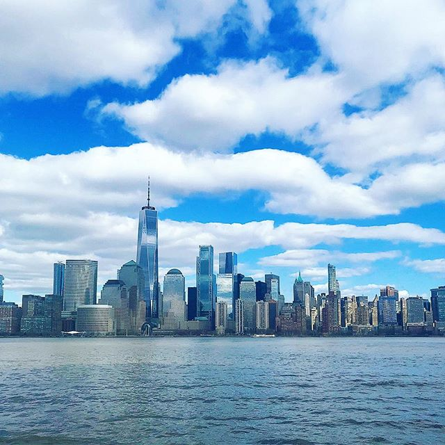 "The best view of Manhattan is from Jersey. Funny how we sometimes don't see the beauty or the good in a situation until we step outside of it. Remember that ""bad"" ""ugly"" ""wrong"" ""hurtful"" are all terms we define based on our #perspective. A situation is only any of these things because you've labeled it that. 🤓🙌 #prespective #thinkpositive #youareincontrol"