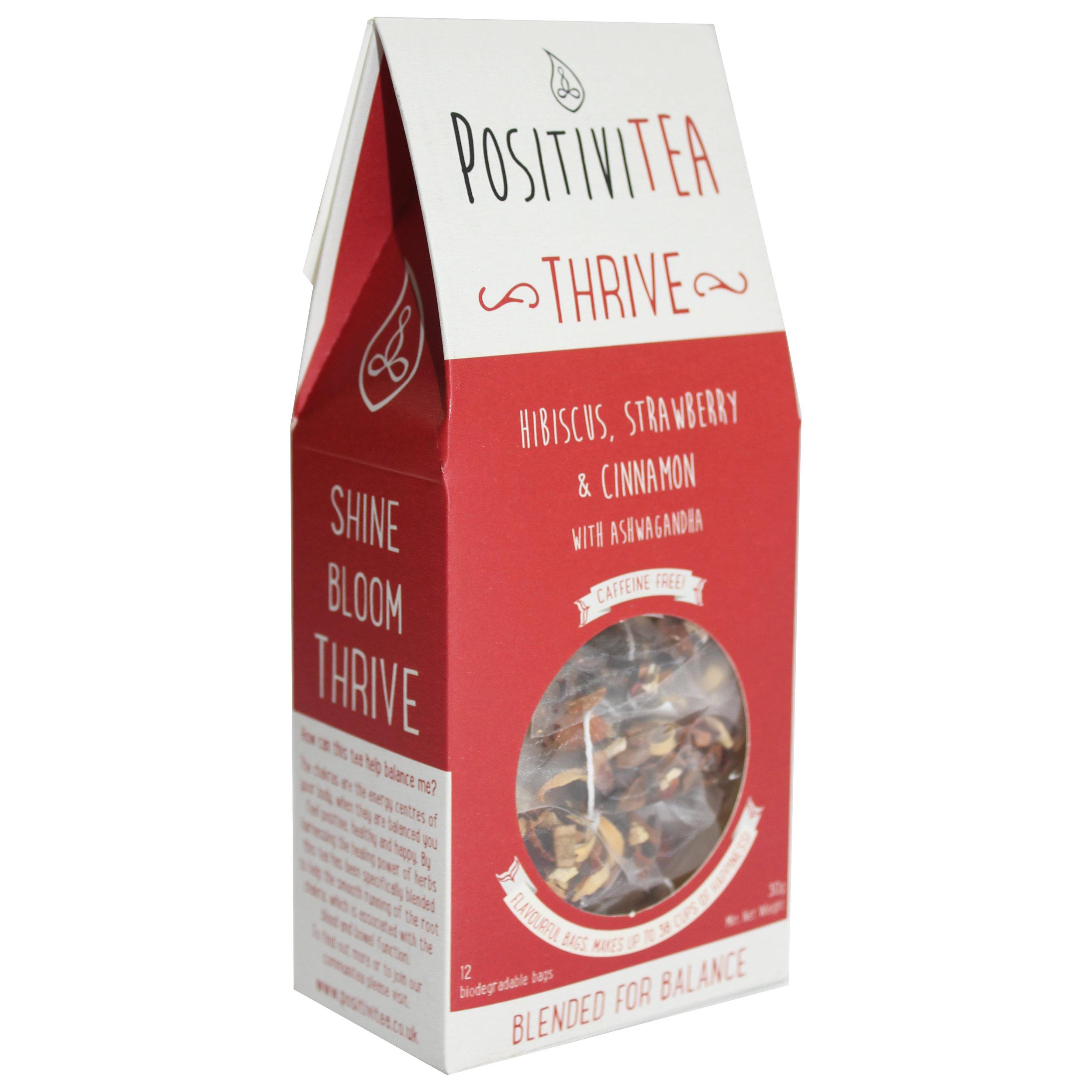THRIVE - ROOT CHAKRA TEA BLEND — Positivitea - Not Just Tea, A Way To Be