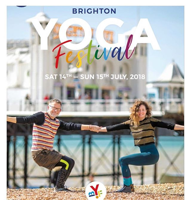 Who's going?  We are! It's the 5th annual Brighton Yoga Festival - the biggest free-entry yoga festival in the UK - so join us for two days packed full of yoga, massage, meditation and ICED TEA!  We'll also be selling some more lovely Positivitea products like our Eco-Friendly Glass Infuser Flasks, Chakra Cards, Taster Packs and more so pop on down to Hove Cricket Ground in Brighton and get your Om on!  There will be more than 100 FREE yoga classes, free talks, therapies, a beginner zone, a kids area, music zone, chill out zone and a few 'pay to enter' workshops with well-known teachers including Esther Ekhart as well as Ram Vakkalankan - an international expert on yoga and sound, leading the Saturday session. ——————————————— Don't miss out and join us in for some fun the sun this weekend! 🙌🏻🙏🏻💫☀️🌈