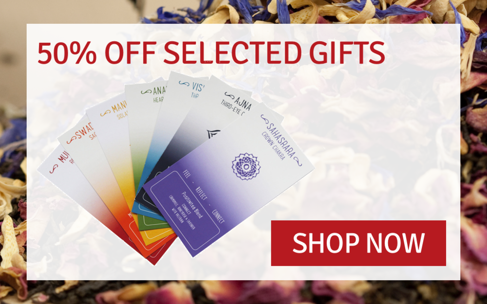 Up to 50% off selected positivitea gifts