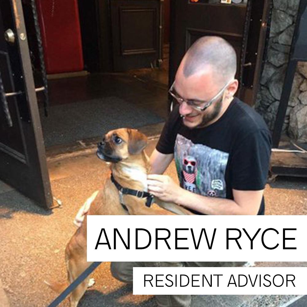 Andrew Ryce, Resident Advisor