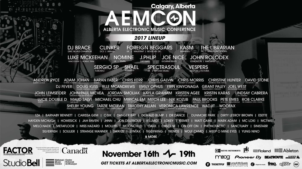 The 2017 AEMCON Line Up