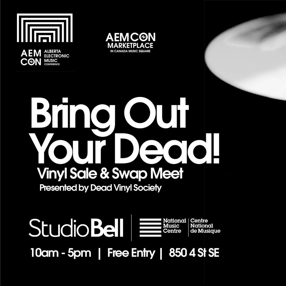 A vinyl swap will be featured at the Marketplace