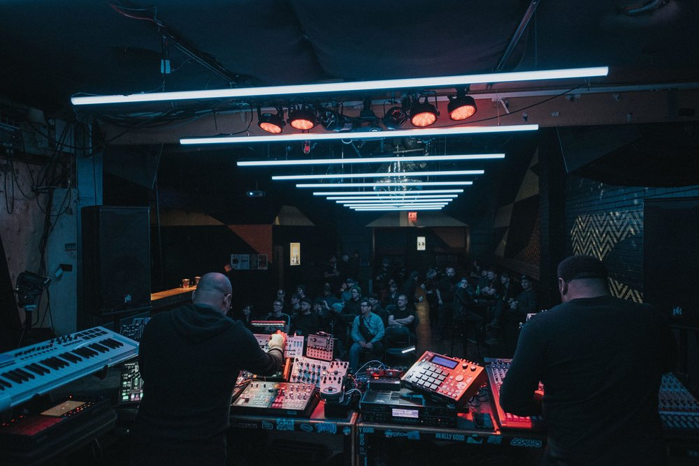 """We really enjoyed the Alberta Electronic Music Conference panel and of course playing for you!"" - Octave One"