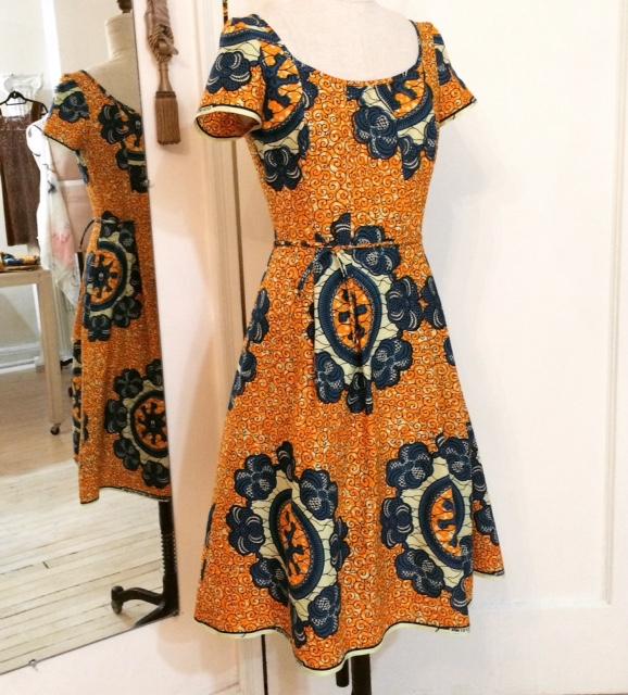 """Key"" Print Dress"