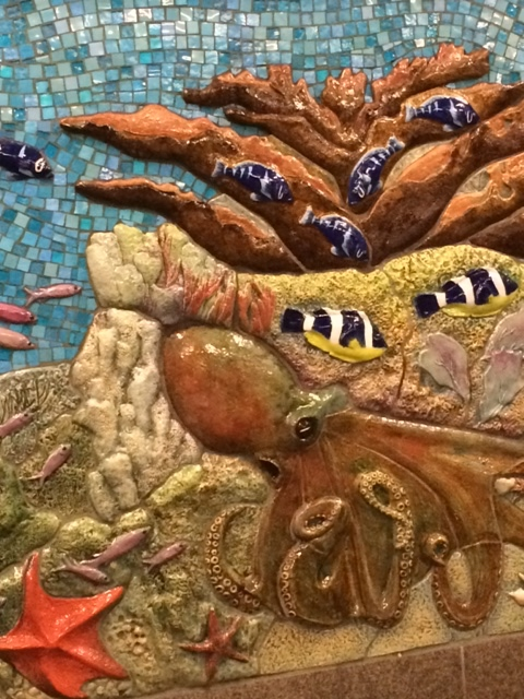 Subway mosaic near the Museum of Natural History at 81 street
